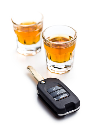 drinking driving: the concept for drink driving Stock Photo