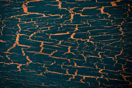 crackle: the black cracked painted background