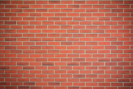 Die rote Backsteinmauer Textur Standard-Bild - 33452403