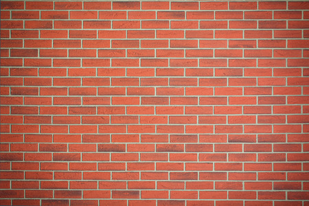 the red brick wall texture