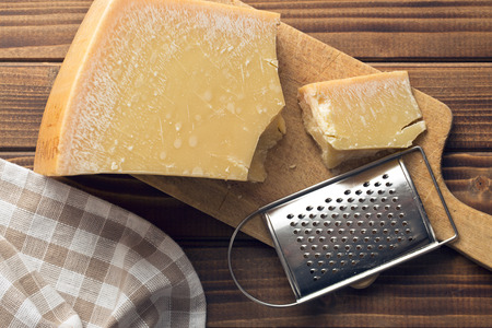 parmesan cheese: the cheese grater and parmesan