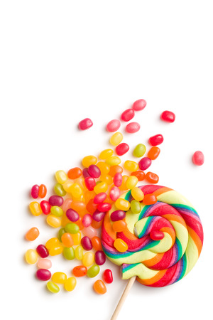 jelly beans: the jelly beans and lollipop