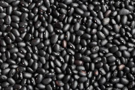 black bean: the texture of black beans