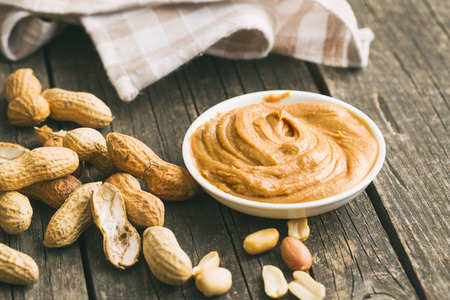 allergic ingredients: Creamy peanut butter and peanuts. Spreads peanut butter in the bowl.