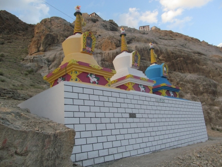 stupas: Stupa in Mulbekh, Ladakh