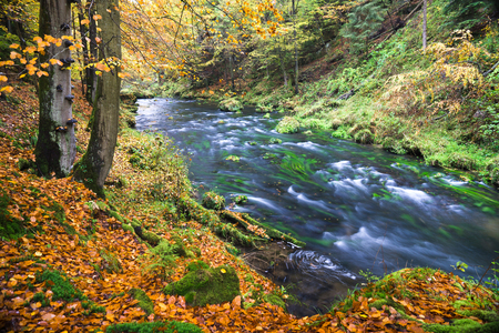 czech switzerland: Edmund Gorge is located in the Czech Switzerland National Park