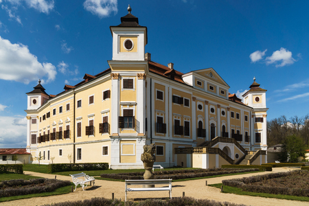 The Milotice State Chateau, called the pearl of southeastern Moravia, is a uniquely preserved complex of Baroque buildings and garden architecture