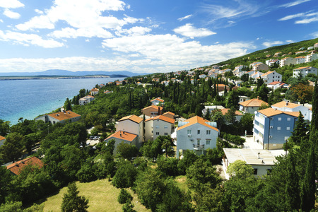 Crikvenica is a popular and popular resort, the largest on the Croatian seaside (5,800 inhabitants), 37 km southeast of Rijeka.