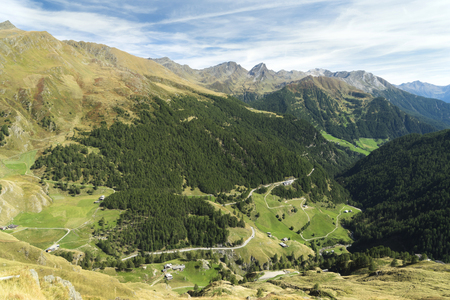 Timmelsjoch (Italian Passo del Rombo) is an Alpine road saddle located on the border of Austria and Italy.