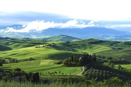 Tuscany is a beautiful, very photogenic landscape in central Italy