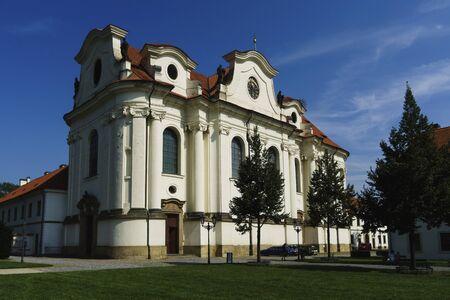 The Brevnov Monastery is the oldest Czech monastery located in Prague's Brevnov district