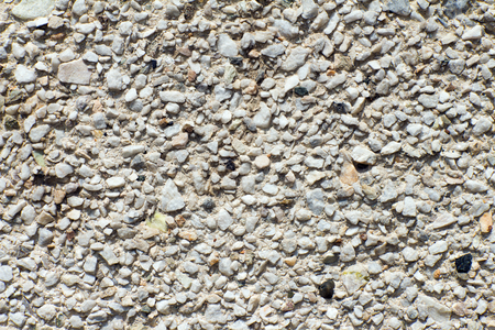macadam: Stones small in size. Exterior wall coating. Stock Photo