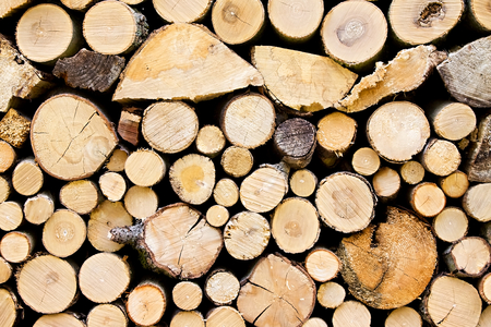 several: Texture. Heap of several logs