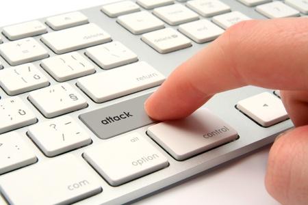 Cyber attack, cyber terrorism, cybercrime concept. Stock Photo - 11847353