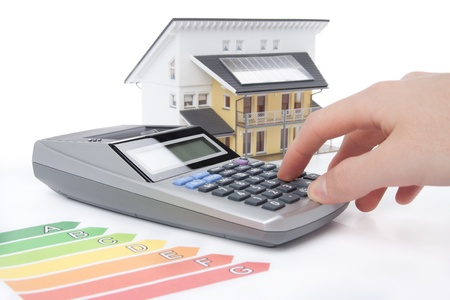 calculation: Calculation for energy positive (active) house concept.