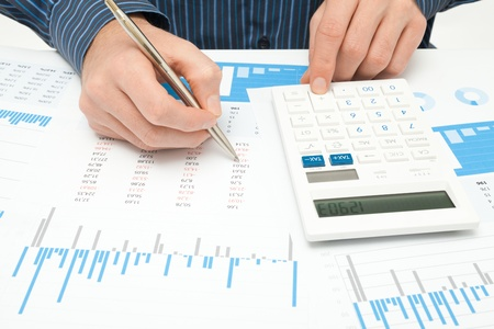 informe comercial: An�lisis de negocios - calculadora, hoja, gr�fico, empresa informe y analista