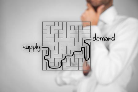 회사 공급에서 성공적인 고객 요구에 이르기까지 길고 어려운 방법. 마케팅 제품 전문가 계획 신제품.