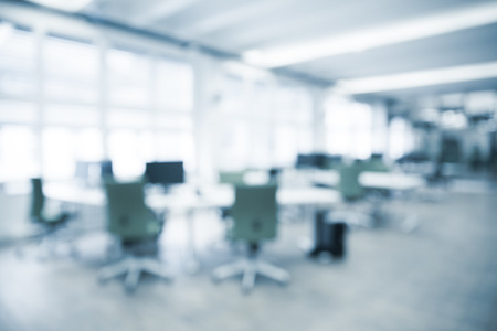 Office background - blurred and defocused - ideal for business presentation background. Stock Photo - 48063148
