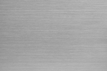 Brushed aluminum texture. Chrome metal texture of surface for wallpaper and background. Stok Fotoğraf - 48476099