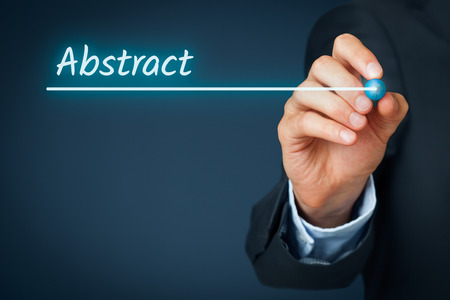 slide show: Abstract heading - background template for business presentation.