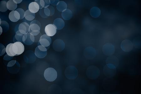 bokeh elegante. Notte scuro decorativo disegno elemento astratto.