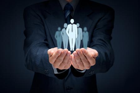 有力者、オピニオン リーダー、チーム リーダー、CEO、マーケット リーダーとの概念を導く別のビジネス。