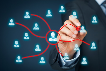 조직: 관리자가 다른 팀원에게 작업을 위임합니다. 위임 관리 개념입니다.