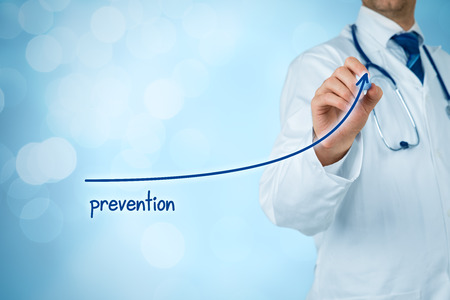 Doctor improve patient prevention and better access to medical and healthcare supervision. Medical practitioner motivate patients to increase number of preventive examinations.