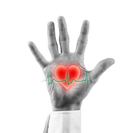 Concept de soins de santé et de prévention des problèmes cardiaques (cardiologie).