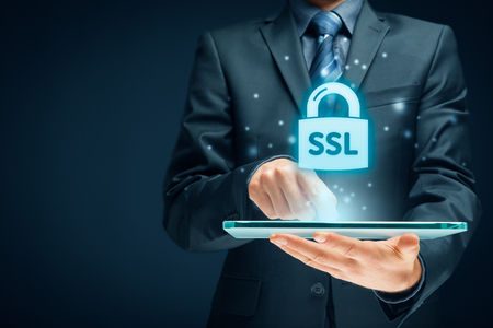 SSL (Secure Sockets Layer) concept - cryptographic protocols provide secured communications.