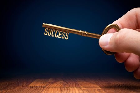 Coach (manager, mentor, HR specialist, you) has a key to unlock success - motivation concept.