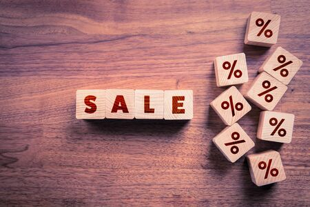 Sale in shop, store, mall or shopping centre marketing concept. Consumerism and commercial marketing campaign concept.