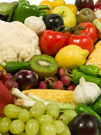 Healthy eating  Fruits and Vegetables assortment