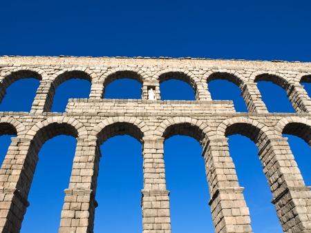 acueducto: Acueducto de Segovia, Spain Stock Photo