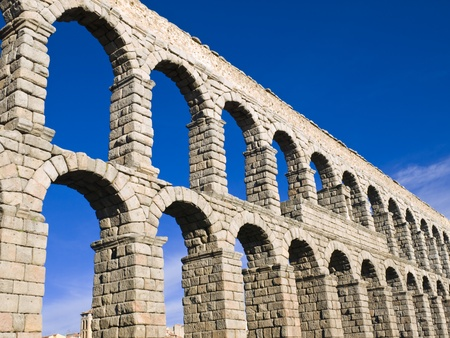 segovia: Acueducto de Segovia, Spain Stock Photo