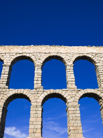 acueducto: Acueducto de Segovia, Spain Stock Photo