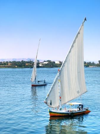 nile: Images from Nile  Felukah sailing