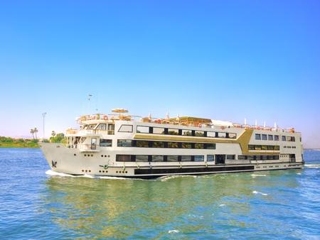 nile: Images from Nile  Touristic cruise sailing