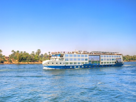 Images from Nile  Touristic cruise sailing