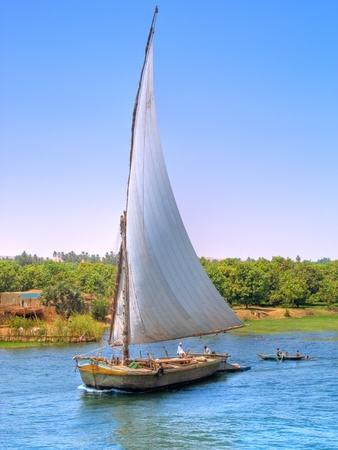nile: Faluca sailing  Images from Nile, Egypt