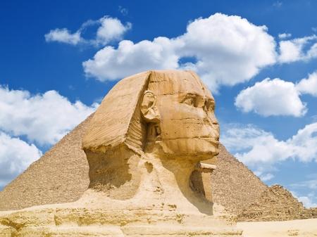 The Sphinx of Cairo