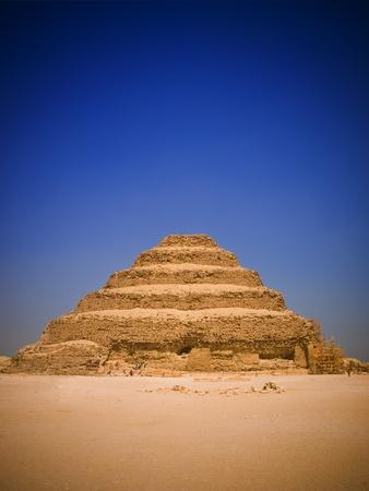 djoser: Great step pyramid of Djoser, Saqqara