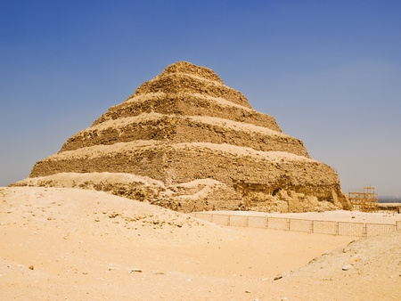 stone steps: Great step pyramid of Djoser, Saqqara