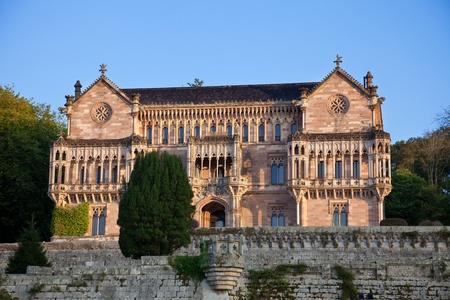 santander: Palace of Sobrellano in Comillas, Santander, Spain