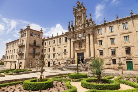 Convent of San Martino Pinario, Santiago de Compostela, Galicia, Spain  Stock Photo - 17465747