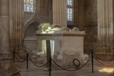 Tomb of Joao I and Philippa of Lancaster in Batalha monastery, Portugal   UNESCO World heritage photo