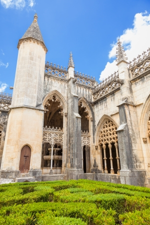 Royal cloister of Batalha monastery, Portugal   photo
