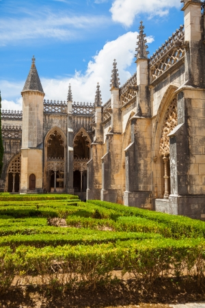 Royal cloister of Batalha monastery, Portugal  UNESCO World heritage photo