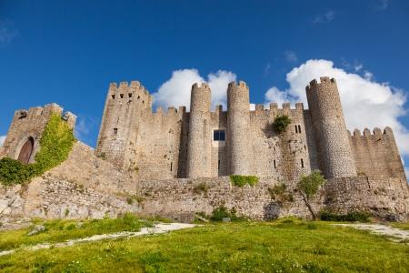 ポルトガルの中世の要塞化された村オビドス城