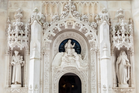 quinta: Chapel of Quinta da Regaleira in Sintra, Portugal Stock Photo